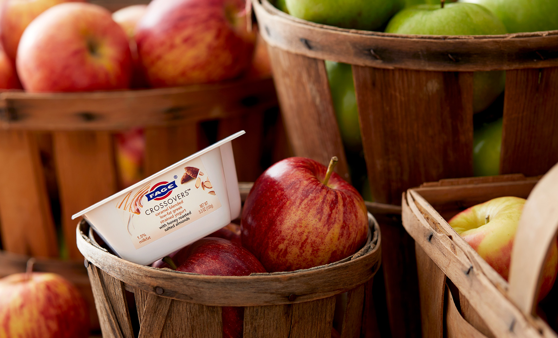 Fage Apple Crate Caramel