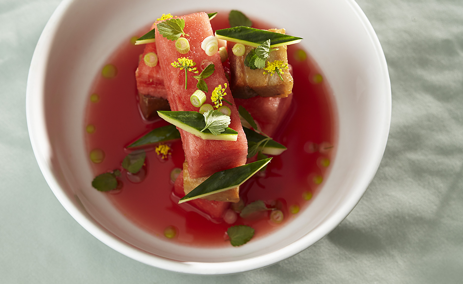 Watermelon Pork Belly