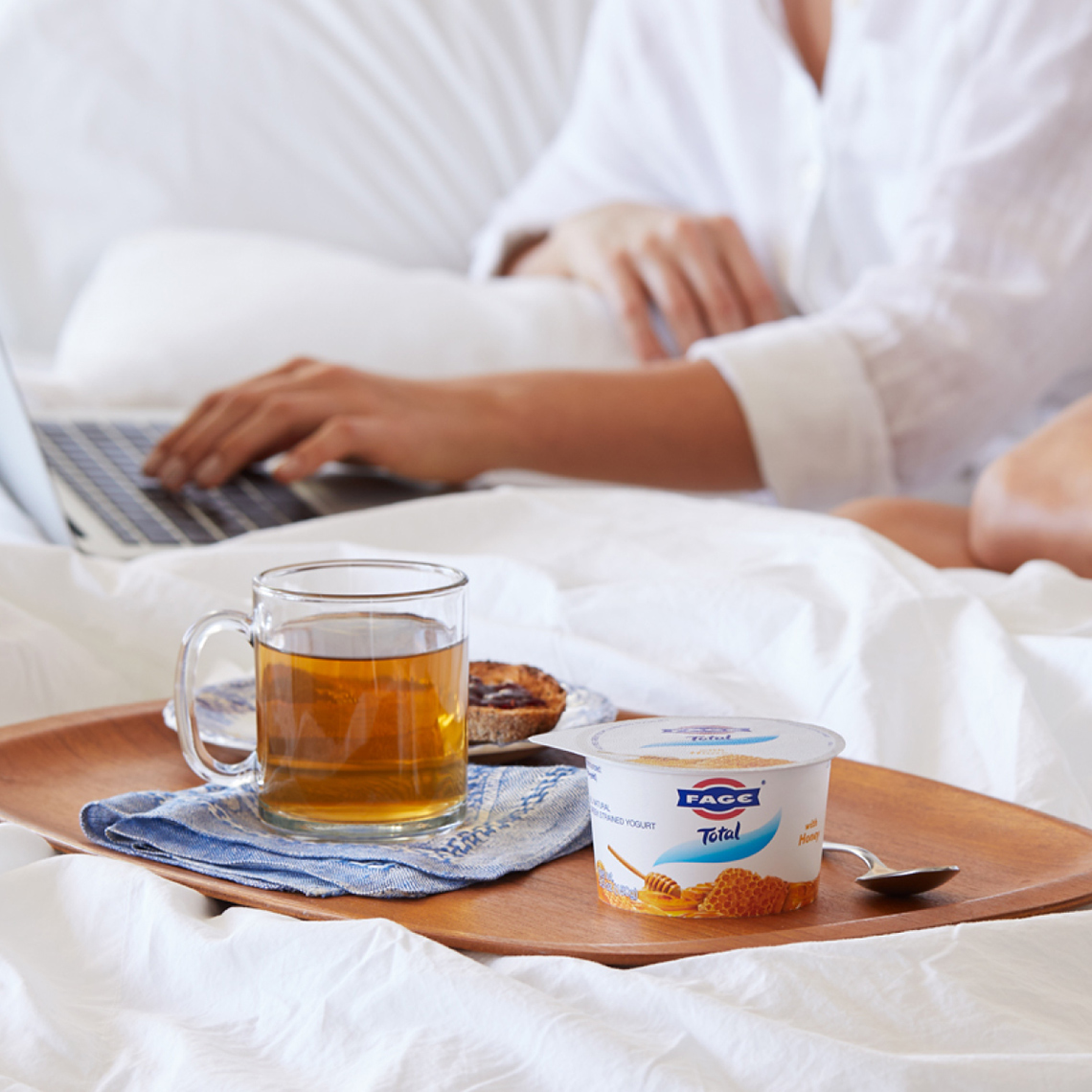 Fage Yogurt Bed Teapot Surfing