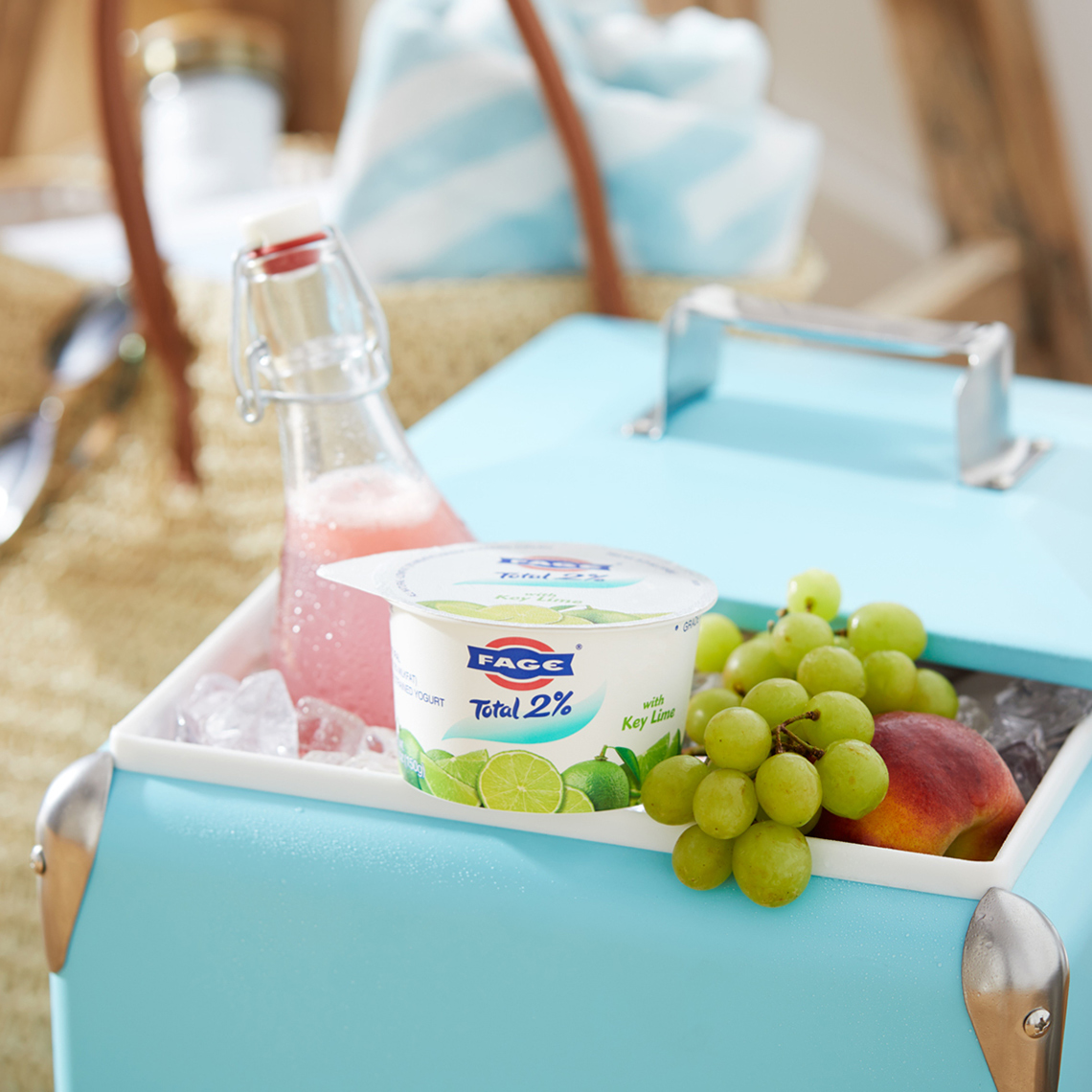 FAGE Cooler RattanTote